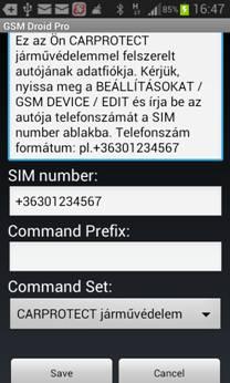 gsm droid pro app 6